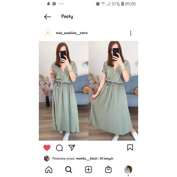 Sukienka dla mam karmiących  i nie tylko sukienka