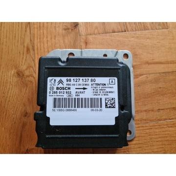 Sensor Poduszek Peugeot 2008 98 127 137 80 NOWY!!!