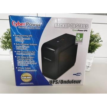 Zasilacz awaryjny UPS Cyberpower DX850E-FR 490W