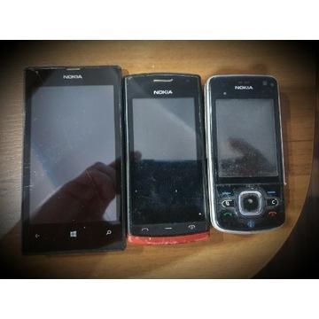 3x Nokia - Nokia Lumia 620, Nokia 500, Nokia 6210s