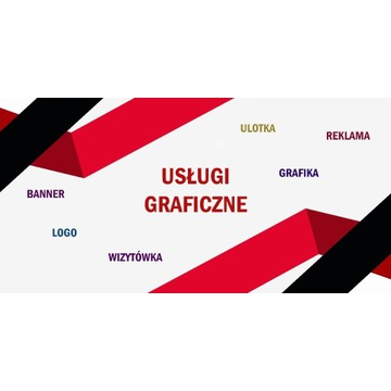 Projekt LOGO, Wizytówka, Banner, Grafika FB
