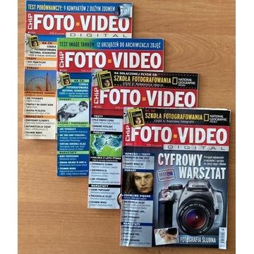 Czasopisma Foto-Video 15 numerów + gratis książka