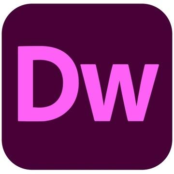 Adobe Dreamweaver 2020 CC PL dla Windows