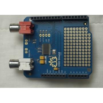 Arduino MAX7456 OSD Shield On Screen Display Wideo