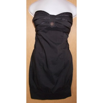 Sukienka czarna ... r.36