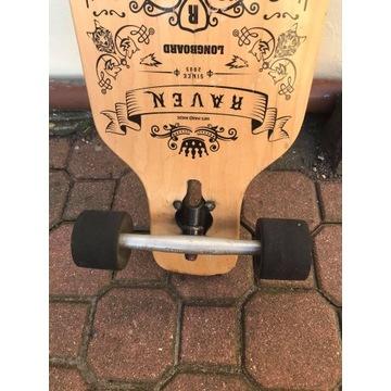 Deskorolka Longboard RAVEN Solid ABEC9