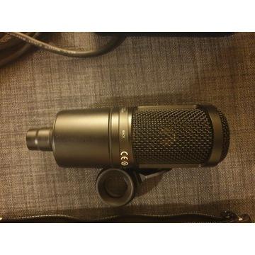 Mikrofon Audio-technica at2020, presonus audiobox