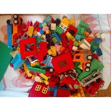 LEGO DUPLO MIESZANE MIX 8 KG DUŻA PŁYTA TANIO!!!