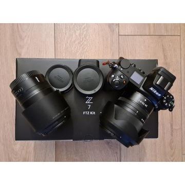 Nikon Z7 + FTZ + Nikkor Z 24-70 + Nikkor Z 85 +