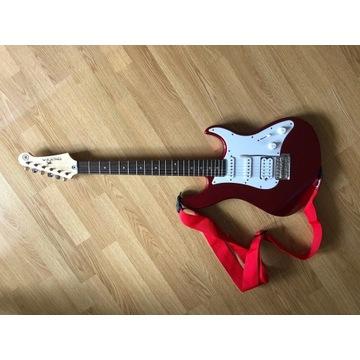 Yamaha Pacifica + Fender Frontman + akcesoria