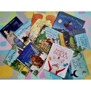 Nowy zestaw 10 książek Julia Donaldson Gruffalo