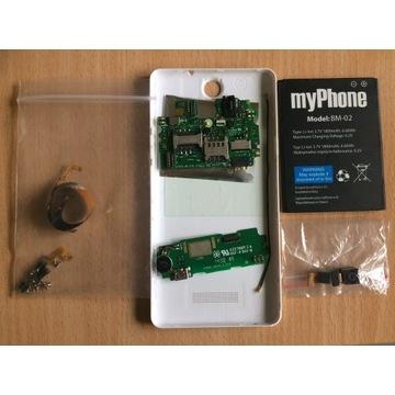 Części myPhone Cube Bateria, Kamera, taśma, USB