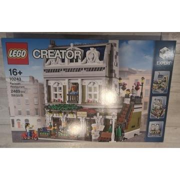 Lego 10243 Paryska Restauracja. Nowy,stan idealny!