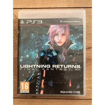 Lightning Returns Final Fantasy XIII PS3 Nowa FOLI