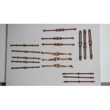 Mix elementów łańcuchów do lampy naftowej