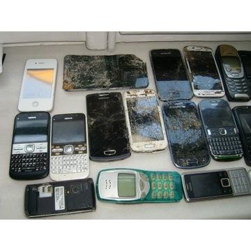 Zestaw 30 telefonów NOKIA i samsung