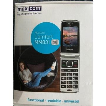 Telefon dla seniora Maxcom mm831 nowy nieużywany