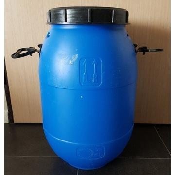 Beczka 50 litrów po spożywce HDPE