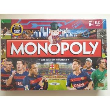 Gra planszowa monopoly fc barcelona