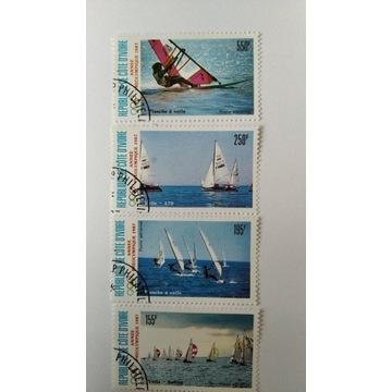 Cote d'Ivore żeglarstwo 4 zn