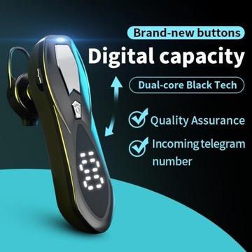 Zestaw słuchawkowy Bluetooth z wyświetlaczem LED