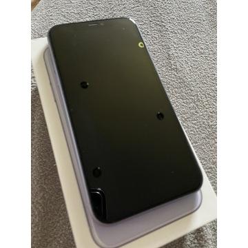 iPhone 11 128gb liliowy/fioletowy stan bdb