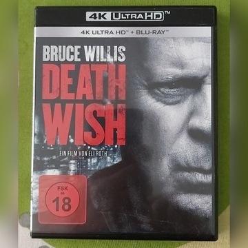 Życzenie śmierci (DEATH WISH) 4K UHD/BD