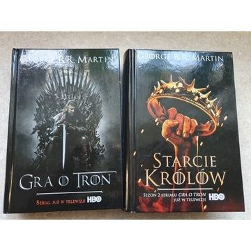George R.R. Martin - Gra o tron + Starcie Królów