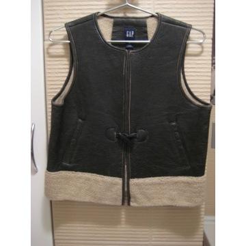 GAP Leather Vest - skórzana kamizelka