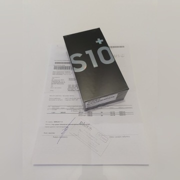 Nowy, zafoliowany na gwarancji Samsung Galaxy S10+