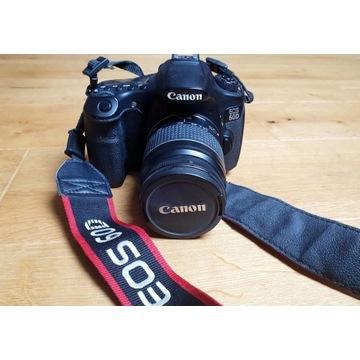 Canon EOS 60D Przebieg <6000 +28-80mm