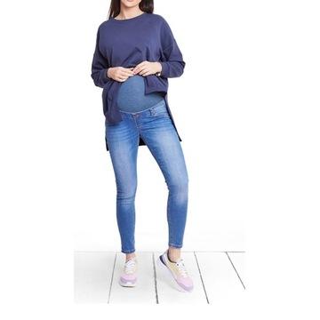 Spodnie jeansowe Happymum XS jak nowe
