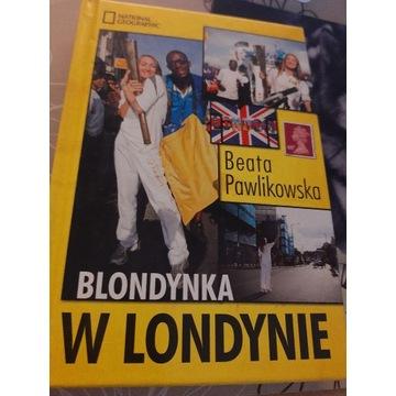 Beata Pawlikowska -Blondynka w Londynie