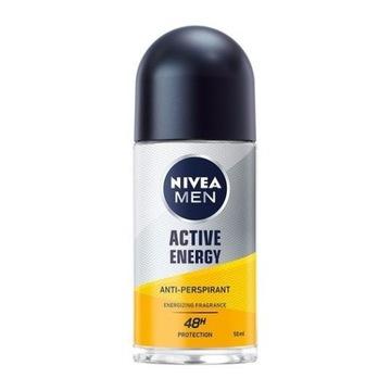 NIVEA MEN active energy anti-perspirant 50ml kulka