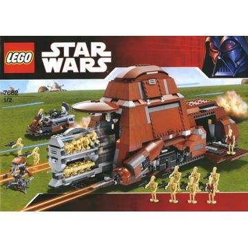 LEGO STAR WARS MTT 7662 UNIKAT