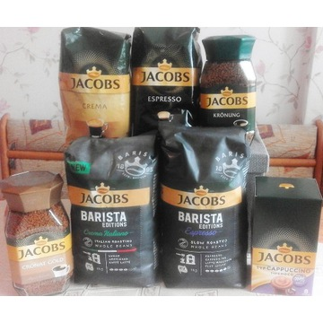 Zestaw 7 kaw Jacobs na 7 dni tygodnia