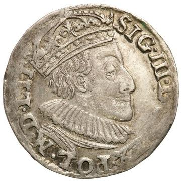 Trojak 1589 Olkusz Zygmunt III Waza R1