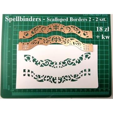 WYKROJNIK - Scalloped Borders 2 - 2 - Spellbinders