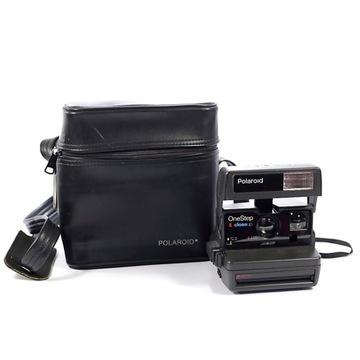 Polaroid 600 One Step Close-Up z kuferkiem