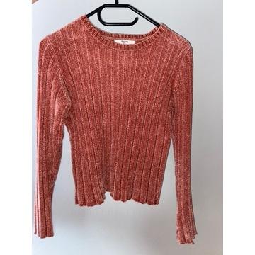 Sweterek różowy Bershka rozmiar S