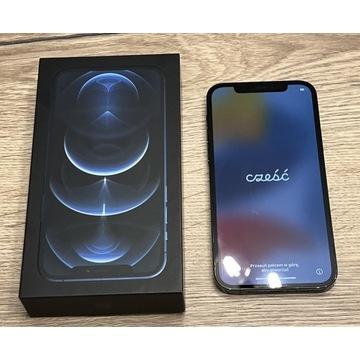Iphone 12 Pro 256 Gb Pacific Blue stan igła