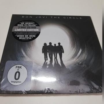 BON JOVI The Circle CD+DVD LIMITED EDITION DOCUMEN