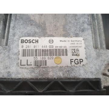 Sterownik Silnika Opel Vectra C 1.9 55189629 LL