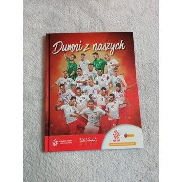 Kompletny album piłkarski Dumni z naszych