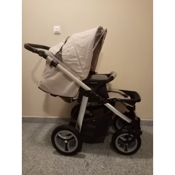 Wózek Baby Design Lupo. Spacerówka + Gondola