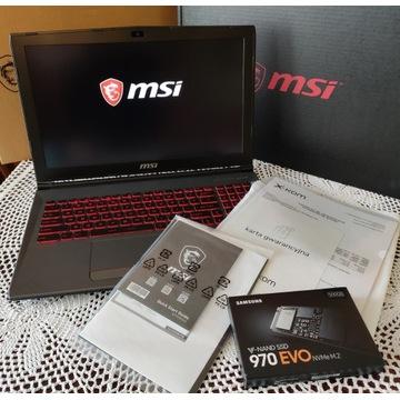 Laptop MSI GV62 8RE