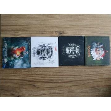 Zestaw 4 płyt CD Żywiołak z autografami 4 albumy
