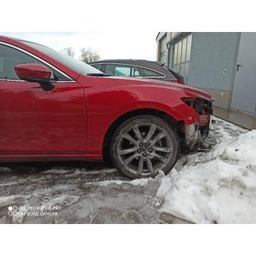Błotnik przedni prawy Mazda 6 41V , igła w kolor.