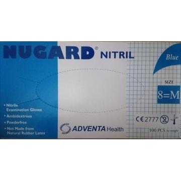 Rękawice nitrylowe NUGARD