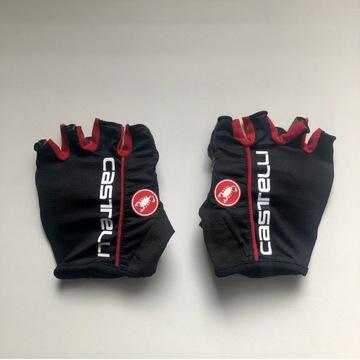 Rękawiczki Castelli Circuito Black (S)